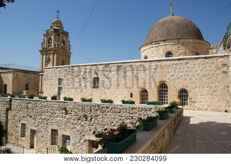 Monastery Of The Cross Buildings, Jerusalem, Israel