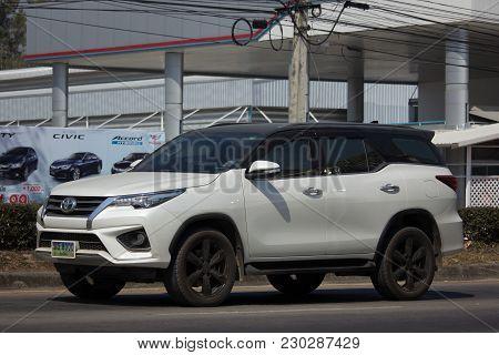 Private Toyota Fortuner Suv Car.