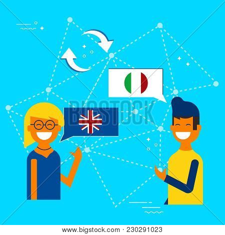 Italian And English Online Chat Translation