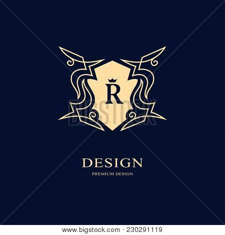 Gold line graphics vector photo free trial bigstock elegant art logo design letter r graceful template business sign identity for restaurant royalty boutique cafe hotel heraldic jewelry fashion friedricerecipe Choice Image