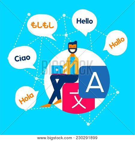 Internet Translation Communication Service Concept