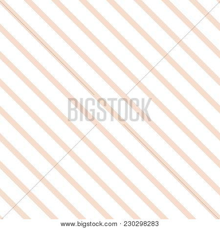 Tile Pink And White Stripes Pattern Or Seamless Background