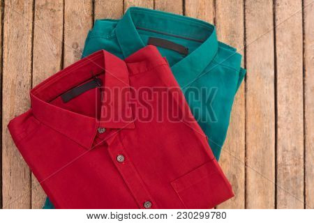Men's Business Clothes (red And Green)