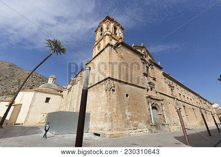 Exterior Facade Of The Santo Domingo Convent Of Orihuela.