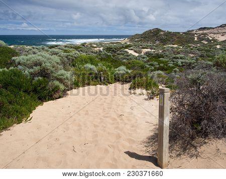 Margaret River, Western Australia - January 27 2018: Cape To Cape Track In Leeuwin-naturaliste Natio