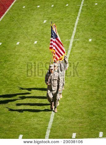Military Presence At Fsu Football Game