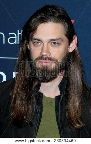 LOS ANGELES - MAR 2:  Tom Payne at the Film Is GREAT Reception Honoring British Oscar Nominees at the British Residence on March 2, 2018 in Los Angeles, CA