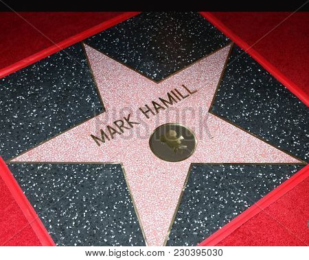LOS ANGELES - MAR 8:  Mark Hamill WOF Star at the Mark Hamill Star Ceremony on the Hollywood Walk of Fame on March 8, 2018 in Los Angeles, CA