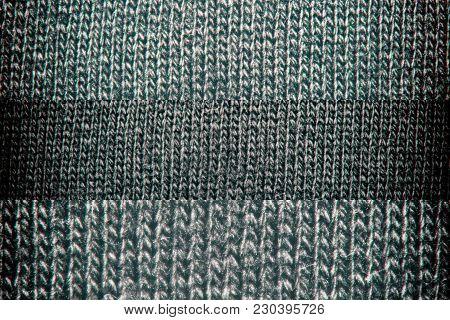Neutral Gray Texture Cotton Sack Sacking Country Background.