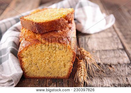 homemade cake pound