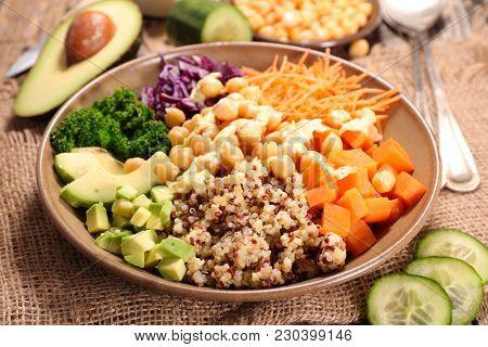 vegan bowl, buddha bowl