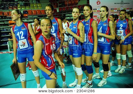 Serbia National Volleyball Team's Players