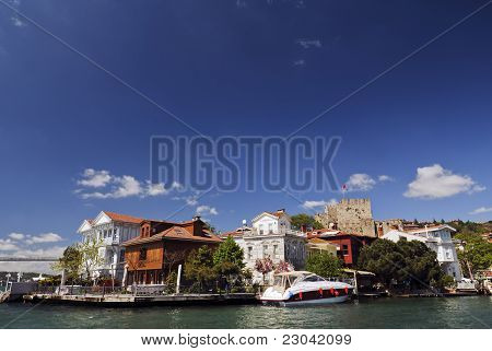 Mansions In Anadolu Hisari, Istanbul, Turkey