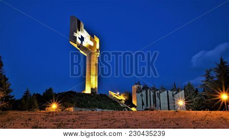 Memorial Complex Stara Zagora Defenders Of 1877 , Bulgaria . It Is Dedicated To Fighting For Stara Z