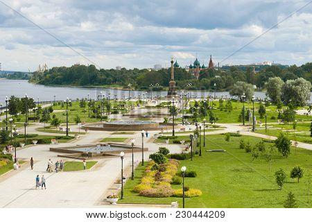 Yaroslavl, Russia - July 17, 2017: