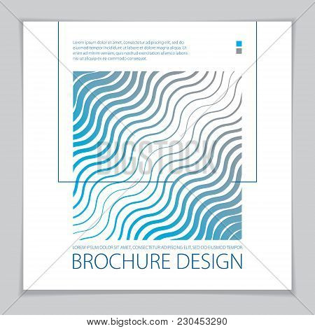 Abstract Minimal Geometric Design Background For Business Annual Report, Book Cover, Brochure, Flyer