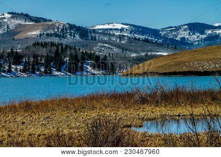 Chain Lake, Chain Lakes Provincial Park, Alberta, Canada