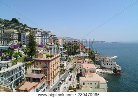 Panoramic View Of Naples From Posillipo (italy)