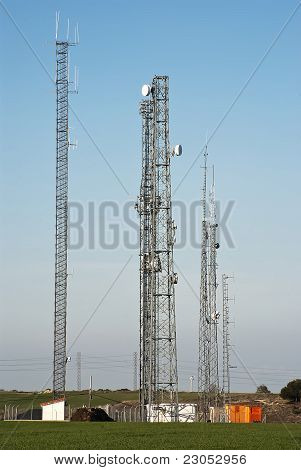 Antennas of comunications
