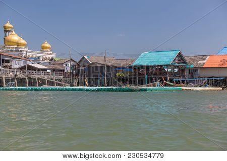 Ko Panyi (koh Panyee) Village And Floating Football Pitch