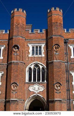 Entrance to the Hampton Court
