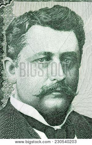 Hannes Hafstein Portrait From Icelandic Money - Krone