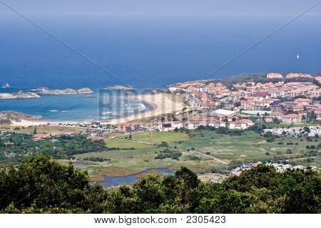 Coast Village:  Isla, Cantabria, Spain