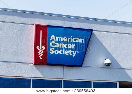 Indianapolis - Circa March 2018: Local American Cancer Society Office, The Acs Is A Health Organizat