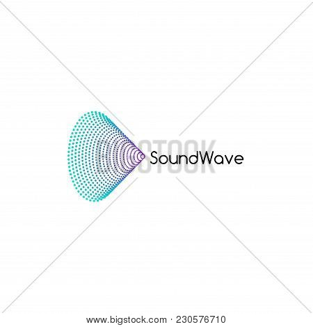 Sound Audio Music Wave Logo Design. Music Sound Icon Illustration.