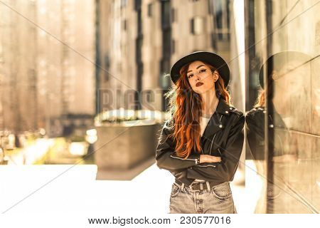 Self confident young woman