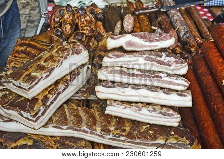 Bacon And Sausages On Sale
