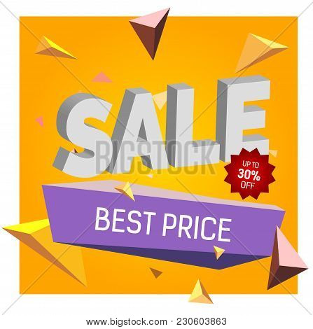 Sale Up To Thirty Percent Off Best Price Lettering. Typed Text, Calligraphy. For Posters, Banners, L