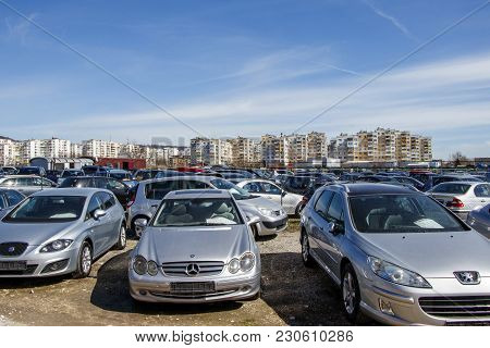 Bulgarian Market For Cheap Cars Bulgaria Varna 11.03.2018