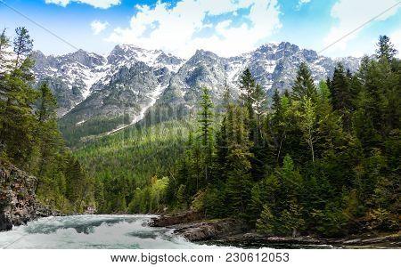 Lake Mcdonald Creek- Glacier National Park, Montana