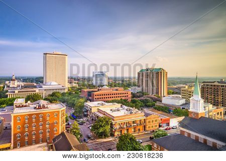 Tallahassee, Florida, USA downtown skyline.