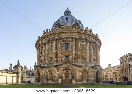 Radcliffe Camera Is A Building Of Oxford University, England, Designed By James Gibbs In Neo-classic