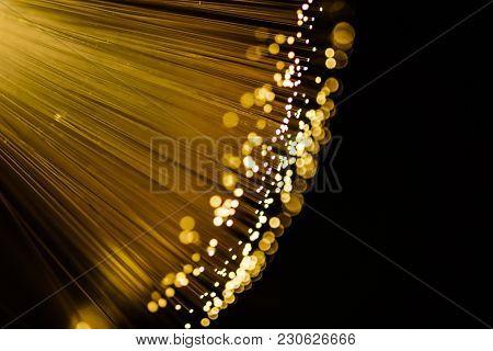 golden shiny design