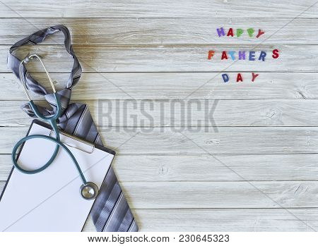 Fathers Day Background, Top View