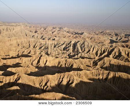View Of Borrego Badlands