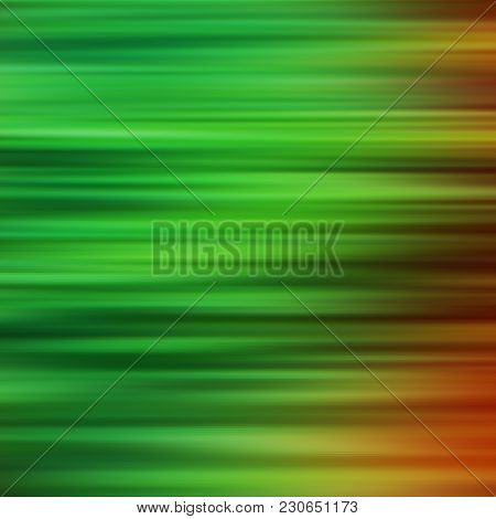 Blurred Green Parallel Lines. Abstract Background. Design Element.