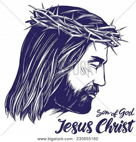 Jesus Christ Son God Vector Photo Free Trial Bigstock