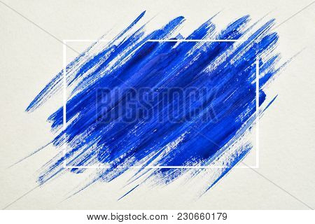 Art Logo Brush Painted Watercolor On Paper Abstract Background Design Illustration Acrylic Stroke Ov