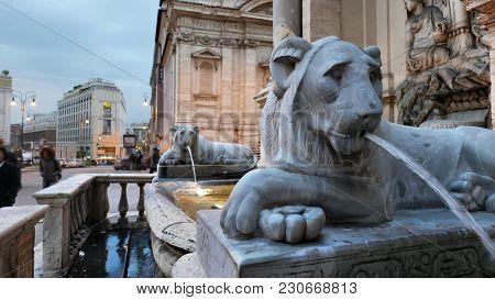Mostra Acqua Felice In Rome