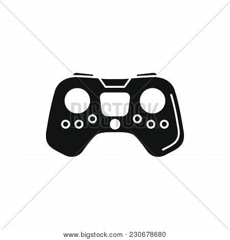 Remote Controller Icon. Silhouette Illustration Of Game Controller Vector Icon For Web And Advertisi