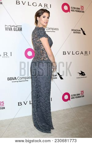 LOS ANGELES - MAR 4:  Amanda Cerny at the 2018 Elton John AIDS Foundation Oscar Viewing Party at the West Hollywood Park on March 4, 2018 in West Hollywood, CA