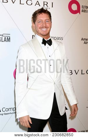 LOS ANGELES - MAR 4:  Jacob Diamond at the 2018 Elton John AIDS Foundation Oscar Viewing Party at the West Hollywood Park on March 4, 2018 in West Hollywood, CA