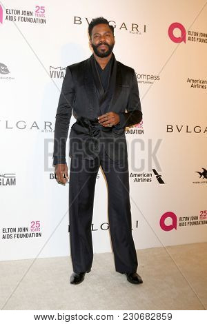LOS ANGELES - MAR 4:  Colman Domingo at the 2018 Elton John AIDS Foundation Oscar Viewing Party at the West Hollywood Park on March 4, 2018 in West Hollywood, CA
