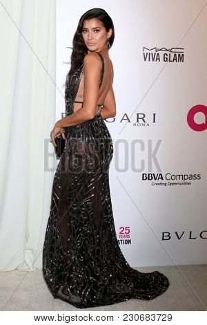 LOS ANGELES - MAR 4:  Nicole Williams at the 2018 Elton John AIDS Foundation Oscar Viewing Party at the West Hollywood Park on March 4, 2018 in West Hollywood, CA
