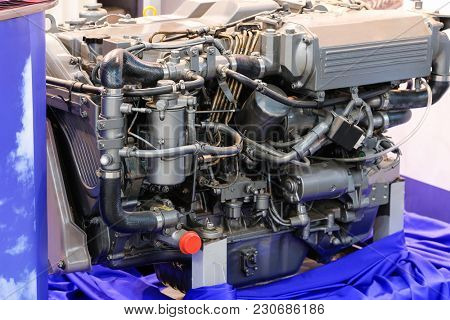 The image of an engine
