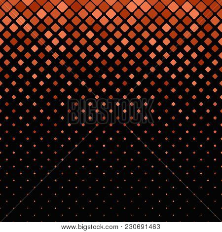 Abstract Geometric Diagonal Rounded Square Pattern Background - Vector Graphic